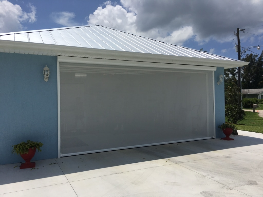 rollers themiracle designs screen ideas for biz sliding and home gorgeous garage door astounding enclosures cedar doors