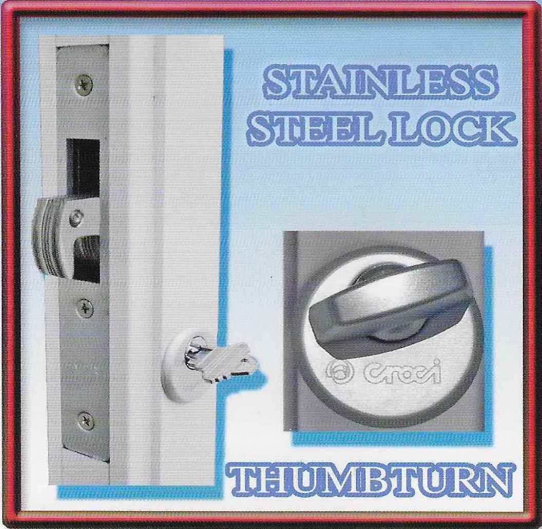 Stainless Steel Lock Security